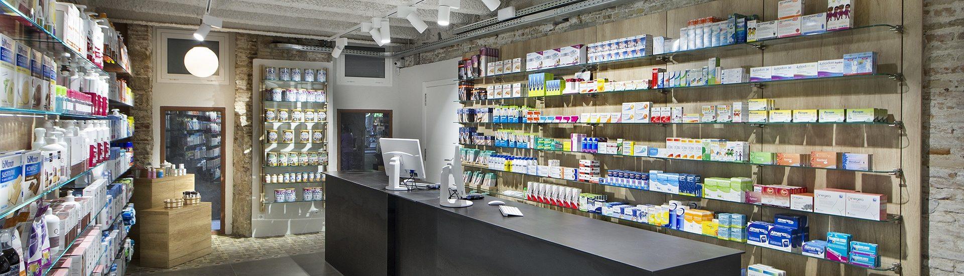 Proyecto Farmacia Alomar - Barcelona