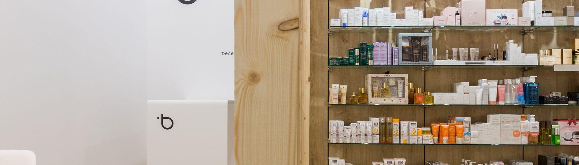 Detalle de la Farmacia Becerro