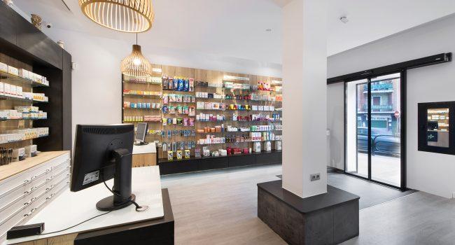 Estanterías para farmacias verticales