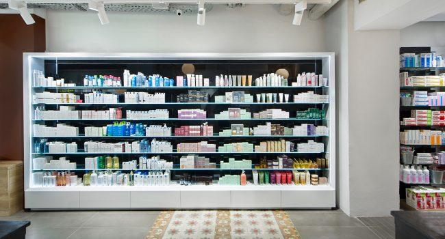 Estanterías para farmacias