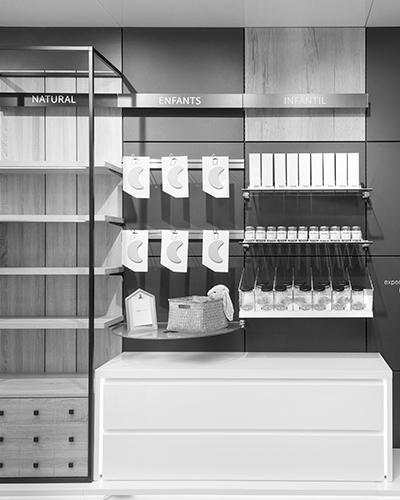 Diseño de farmacias modulares