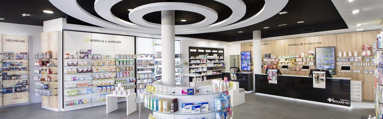Góndola de la farmacia almudever