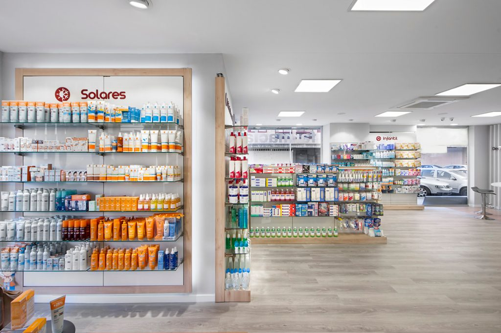 Exponer en farmacias pequeñas