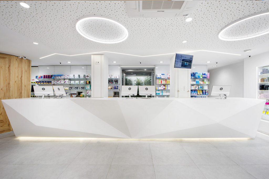 Farmacias con nuevos materiales