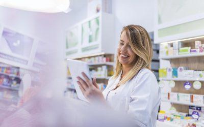 trabajadora convenio de farmacia