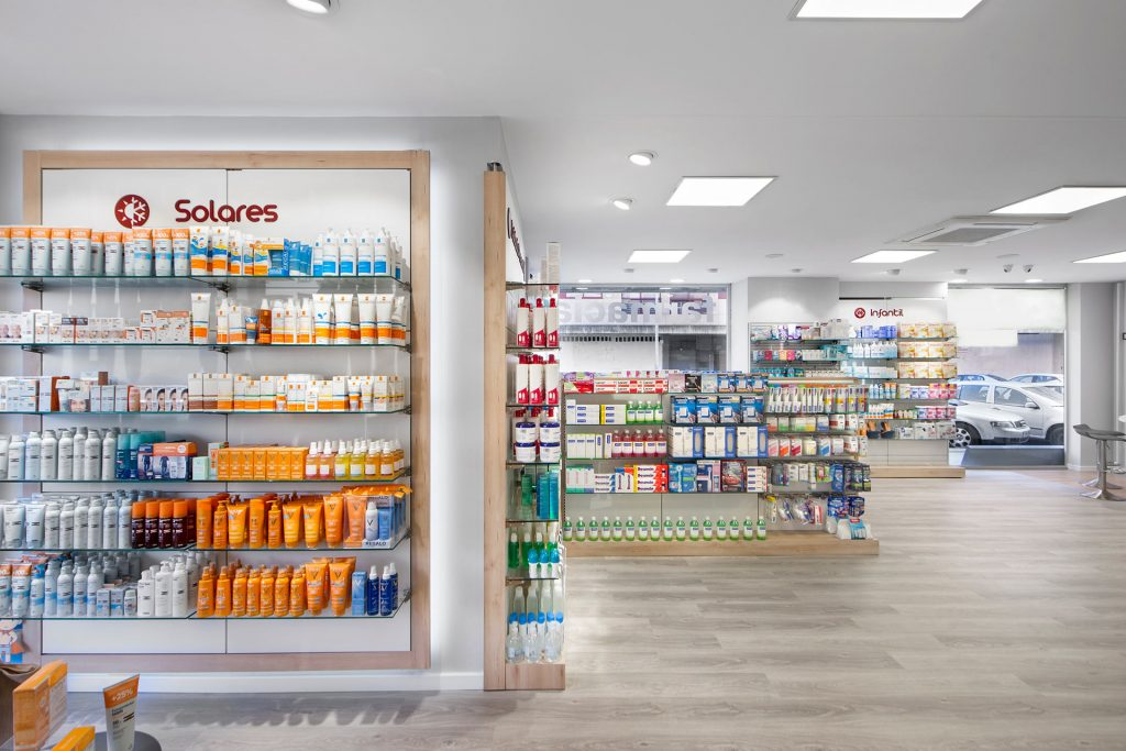 Accesorios para farmacias
