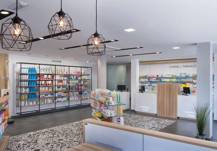 Diseño interior en Farmacias