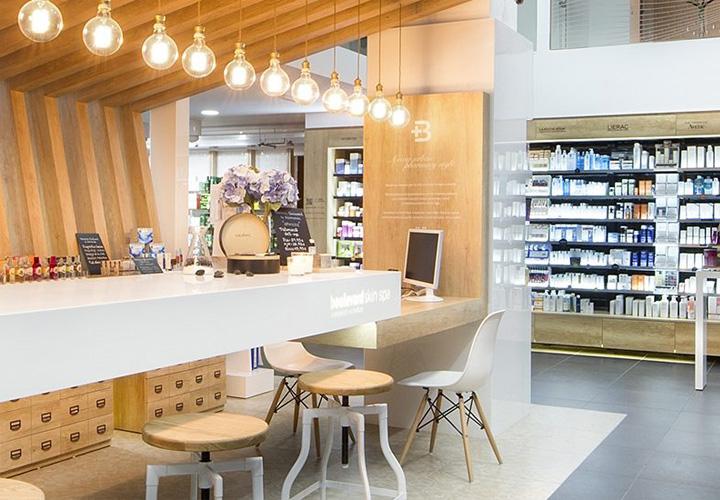 Colores para farmacias, en el diseño