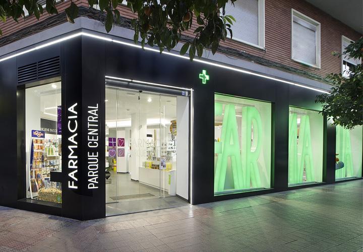 Colores para farmacias, el verde