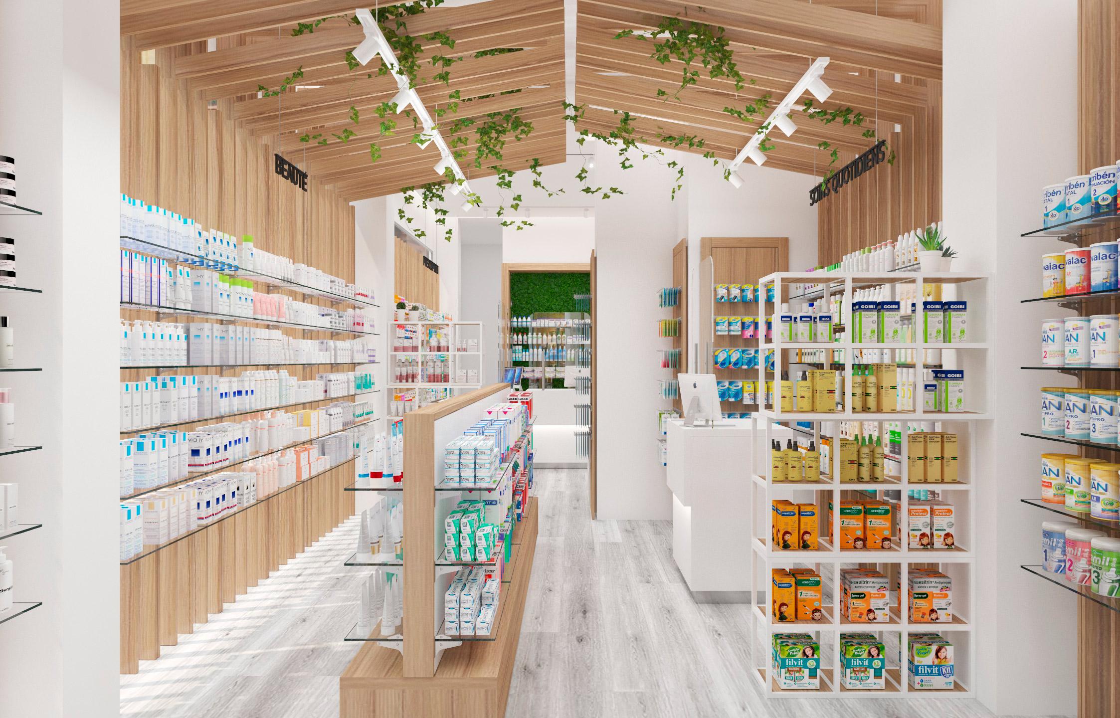Pharmacie design naturelle