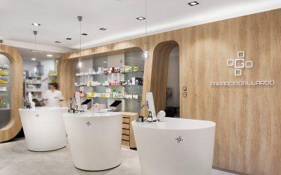 Mostradores de farmacia ideas de diseño