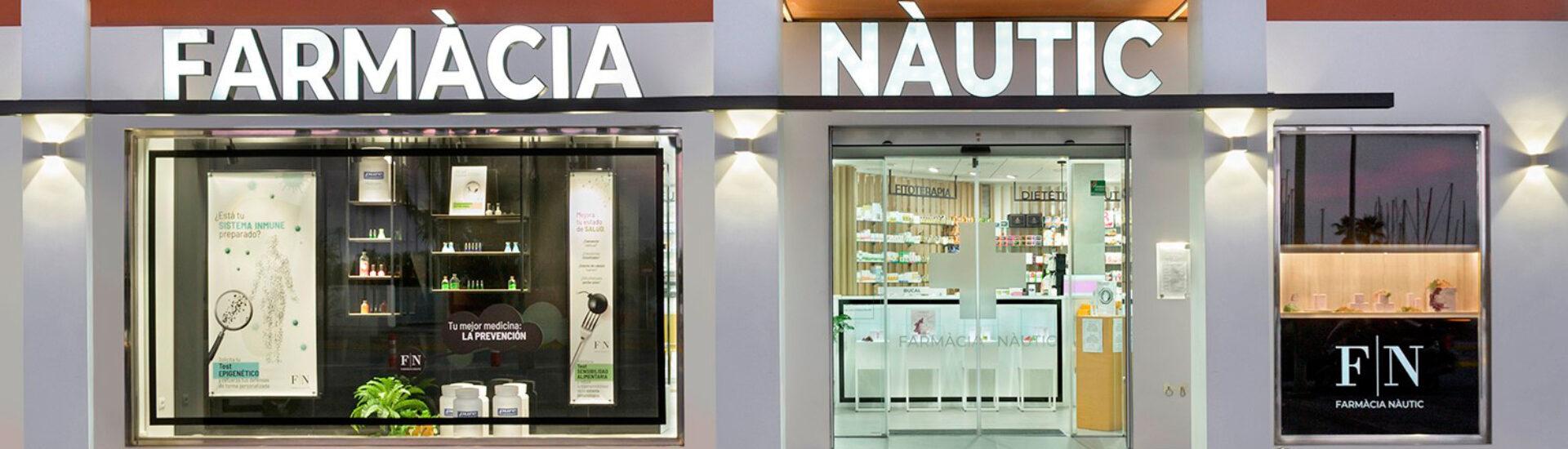 Fachada farmacia nautic