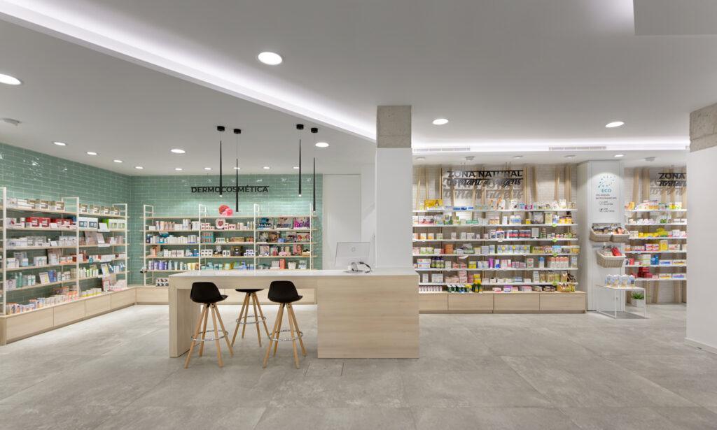 Zona Atención farmacia Berreda