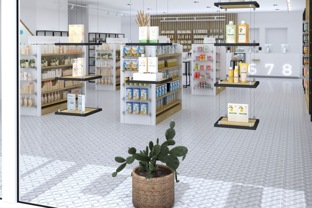 Línea Kube Inside Pharmacy