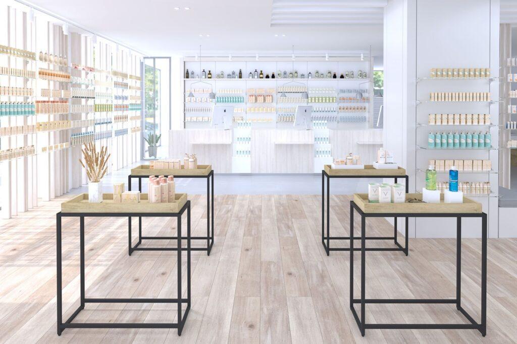 Tienda online muebles de farmacia
