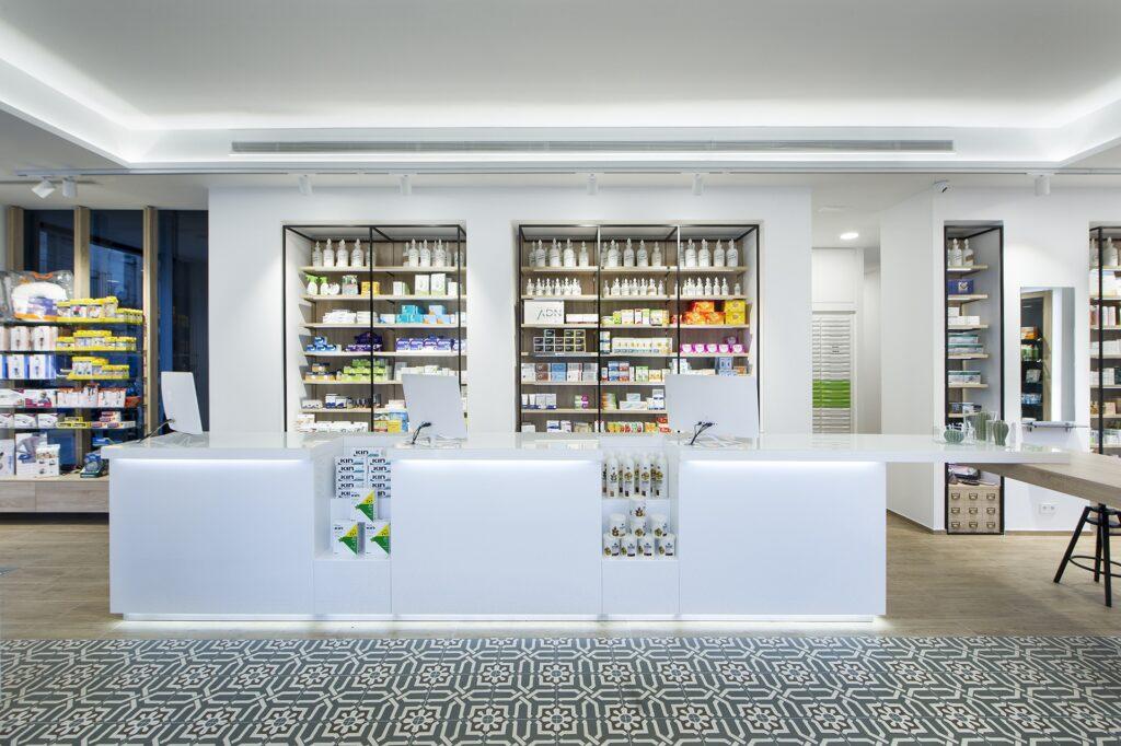 mostrador ventas cruzadas farmacia